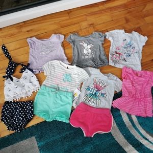 🌺 bundle of baby girl clothes!